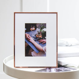 Copper Fine Photo Frame 6X8""