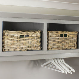Rattan Shelf Storage Basket