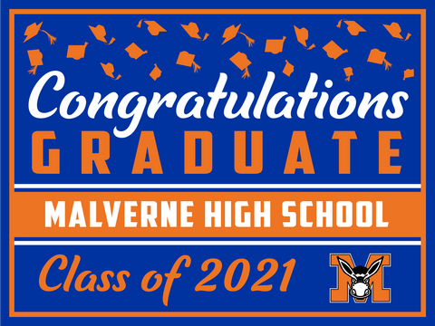 2021 Malverne Lawn Sign