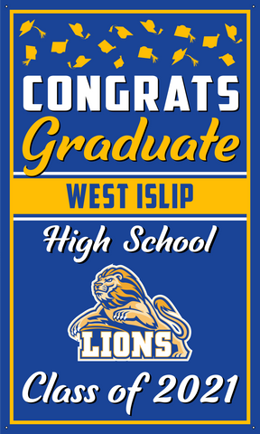 2021 West Islip Door Banner