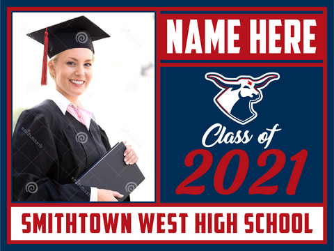 2021 Smithtown West Lawn Sign (Name/Photo)