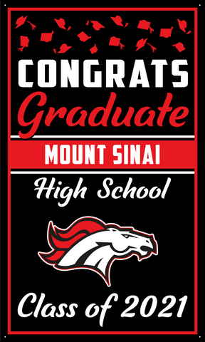2021 Mount Sinai Door Banner