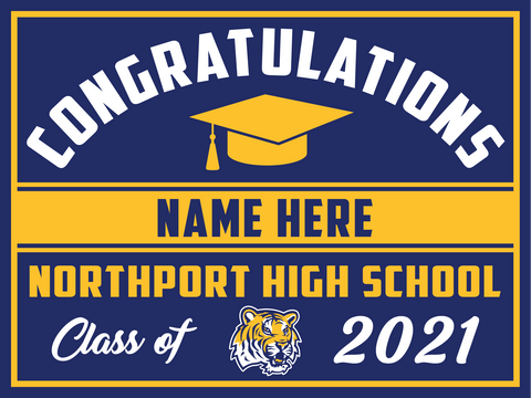 2021 Northport Lawn Sign (Name)