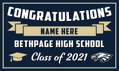 2021 Bethpage Porch Banner (Name)