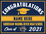 2021 Shoreham Wading River Lawn Sign (Name)