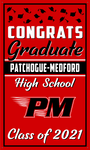 2021 Patchogue-Medford Door Banner