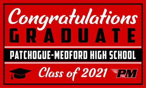 2021 Patchogue-Medford Porch Banner