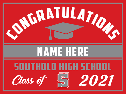2021 Southold Lawn Sign (Name)