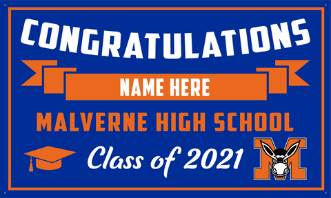 2021 Malverne Porch Banner (Name)
