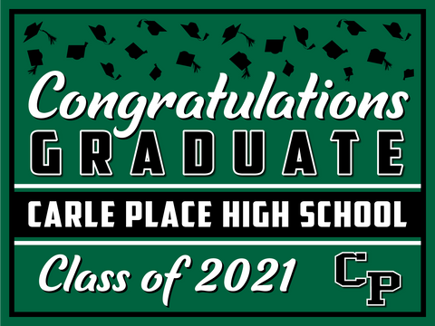 2021 Carle Place Lawn Sign