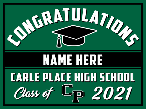 2021 Carle Place Lawn Sign (Name)