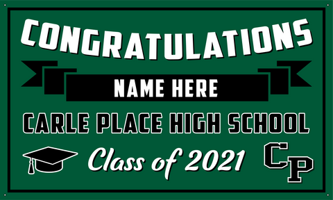 2021 Carle Place Porch Banner (Name)
