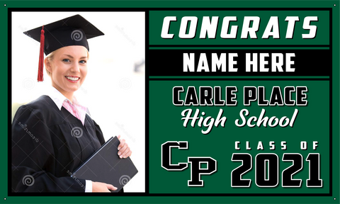 2021 Carle Place Porch Banner (Name/Photo)