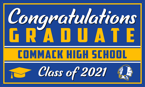 2021 Comsewogue Porch Banner