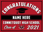 2021 Connetquot Lawn Sign (Name)