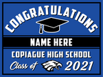 2021 Copiague Lawn Sign (Name)