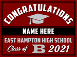 2021 East Hampton Lawn Sign (Name)