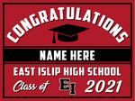 2021 East Islip Lawn Sign (Name)