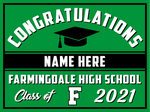 2021 Farmingdale Lawn Sign (Name)