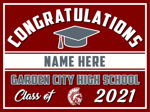 2021 Garden City Lawn Sign (Name)