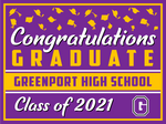 2021 Greenport Lawn Sign