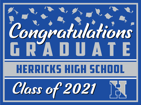 2021 Herricks Lawn Sign