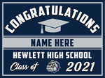 2021 Hewlett Lawn Sign (Name)