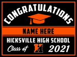 2021 Hicksville Lawn Sign (Name)