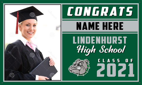 2021 Lindenhurst Porch Banner (Name/Photo)