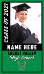 2021 Locust Valley Door Banner (Name/Photo)