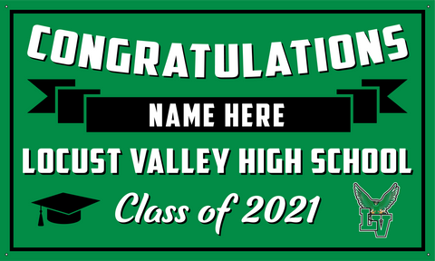 2021 Locust Valley Porch Banner (Name)