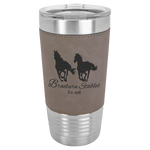20oz. Polar Camel Leather Tumbler