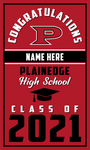 2021 Plainedge Door Banner (Name)