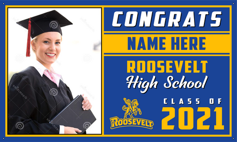 2021 Roosevelt Porch Banner (Name/Photo)