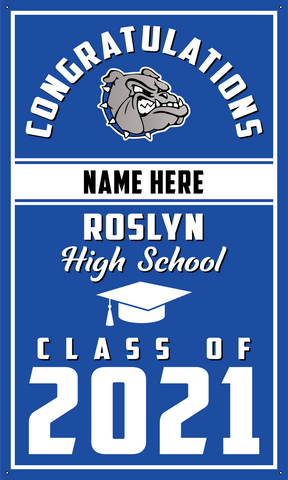 2021 Roslyn Door Banner (Name)