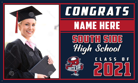 2021 South Side Porch Banner (Name/Photo)