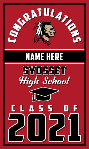 2021 Syosset Door Banner (Name)