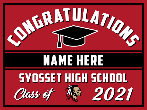 2021 Syosset Lawn Sign (Name)