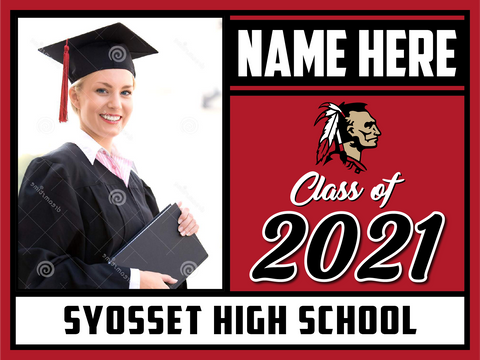 2021 Syosset Lawn Sign (Name/Photo)
