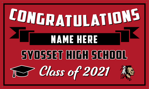 2021 Syosset Porch Banner (Name)