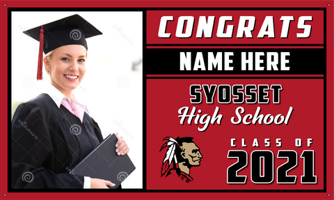 2021 Syosset Porch Banner (Name/Photo)