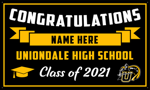 2021 Uniondale Porch Banner (Name)