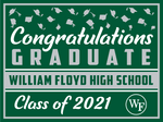2021 William Floyd Lawn Sign