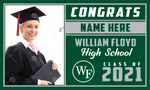 2021 William Floyd Porch Banner (Name/Photo)