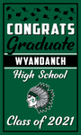 2021 Wyandanch Door Banner