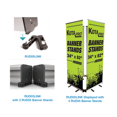 Cube Retractable Banner Stand Link Attachment