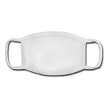 Youth Face Mask - white/white
