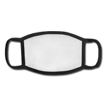 Youth Face Mask - white/black