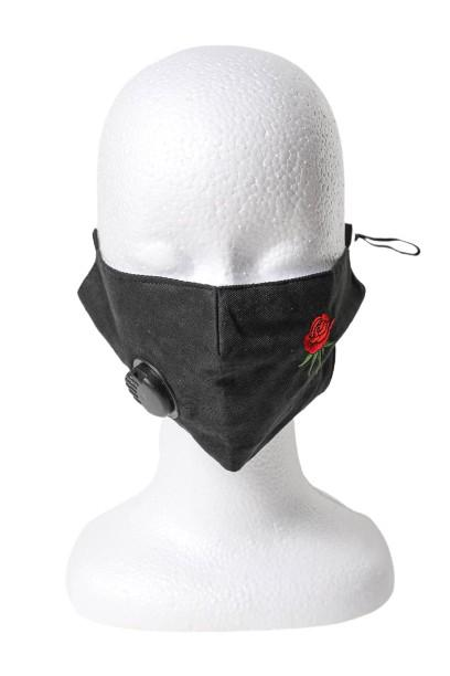 Aloha Reusable Respirator Face Mask - Black