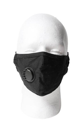 Black Carbon Filter Face Mask